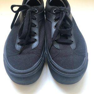 Vans Black with Black Soles NBW